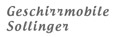 Geschirrmobile Sollinger